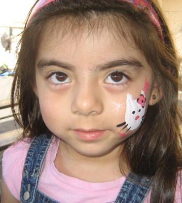 Cheek Art Face Paint